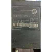 VW Volkswagen Caddy Golf / Audi A3 Sportback / Seat Toledo / Skoda Octavia 1K0907379K / 1K0 907 379 K / 1K0614517H / Ate 10.0960-0348.3 abs esp beyni