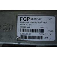 Opel Agila A 1.3 CDTI JTD MOTOR BEYNİ FGP 55187471 LP - MJD 6JO.A1/HW01D / 1315-H175