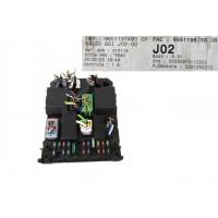 Peugeot 307 VALEO BSI Fuse Box Module 9651197480 J02-00, merkezi elektronik