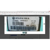 VW VOLKSWAGEN Passat 3C0.614.109.N 16705904 16705704-F TRW, abs, esp beyni