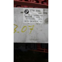 BMW 3 Serisi E93 61.35-07199885-01 / Helbako DE 55892110 Sürgülü Tavan Kontrol Modülü
