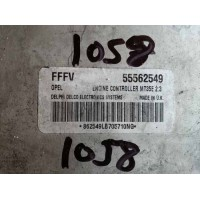Opel Zafira 1.6 Motor Beyni 55562549 / Delphi Delco 862549LB705710NG / FFFV / MT35E 2.3