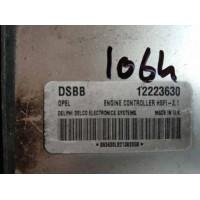 Opel Astra 1.6 Motor Beyni 12223630 / Delphi Delco 863630LB213820G8  / DSBB / HSFI 2.1