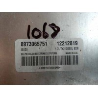 Opel Combo 1.7 Motor Beyni DTI Dizel 12212819 / Isuzu 8973065751 / Delphi Delco 862819LF326610MX / 1.7L/TX2