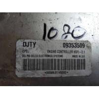 Opel Astra 1.6 Motor Beyni 09353509 / Delphi Delco 863509LB114520X2 / DJTY / HSFI 2.1