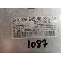 Mercedes ML 320 Motor Beyni A0255458632 / A 025 545 86 32 / Bosch 0261206053 / 0 261 206 053