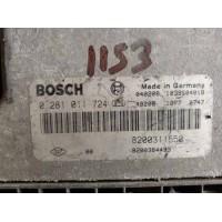 Renault Escape 2.2 Motor Beyni DCI Dizel 8200311550 / 8200384493 / Bosch 0281011724 / 0 281 011 724