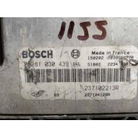 Dacia Dokker 1.5 Motor Beyni DCI Dizel 237102213R / 237104128R / Bosch 0281030439 / 0 281 030 439
