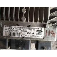 Ford Fiesta 1.4 Motor Beyni TDCI Dizel 7S6112A650AA / 7S61 12A650 AA / Siemens 5WS40433AT / 5WS40433A T