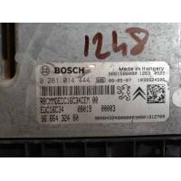 Citroen Nemo 1.4 Motor Beyni HDI Dizel 9666432480 / 96 664 324 80 / Bosch 0281014444 / 0 281 014 444