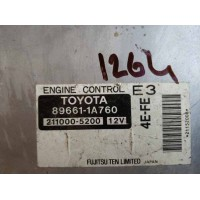 Toyota Corolla 1.3 Motor Beyni 896611A760 / 89661 1A760 / Denso 2110005200 / 211000 5200