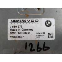 BMW 320I Motor Beyni 7580279 / 7 580 279 / Siemens 5WK93637