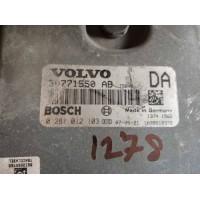 Volvo S60 Motor Beyni 30771550AB / 30771550 AB / Bosch 0281012103 / 0 281 012 103
