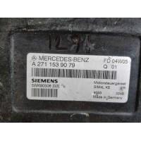 Mercedes W203 / M271 Motor Beyni A2711539079 / A 271 153 90 79 / Siemens 5WK9050603 / 5WK90506 03
