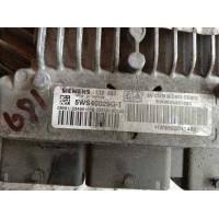 Peugeot 407 2.0 Motor Beyni HDI Dizel SW9656171180 / HW9655041480 / Siemens 5WS40167GT / 5WS40167G T