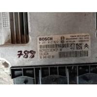 Peugeot 308 1.6 Motor Beyni HDI Dizel 9664843780 / 96 648 437 80 / Bosch 0281013872 / 0 281 013 872
