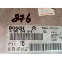 Peugeot 106 1.1 Motor Beyni 9637838780 / 9637838780 / Bosch 0261206246 / 0 261 206 246