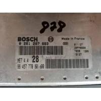 Peugeot 307 1.6 Motor Beyni 9645777080 / 96 457 770 80 / Bosch 0261207683 / 0 261 207 683