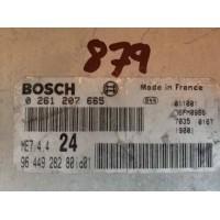 Peugeot 206 1.6 Motor Beyni 9644928280 / 96 449 282 80 / Bosch 0261207665 / 0 261 207 665