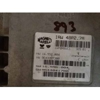 Citroen Motor Beyni HW 16.552.004 / HW 9643707380 / SW 16.596.004 / SW 9644041780 Magnetti Marelli IAW 48P2.7A