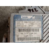 Citroen XM Motor Beyni 9631445980 / 96 314 459 80 / Lucas R04010016D / R 04010016 D