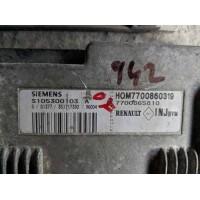 Renault Megane 1.6 Motor Beyni 7700860319 / HOM7700860319 / 7700865810 / Siemens S105300103A / S105300103 A