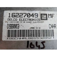 Opel Astra 1.6 Motor Beyni 16227049 / Delco D98003 / CNHR / MF
