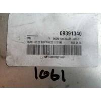 Opel Astra 1.6 Motor Beyni 09391340 / Delphi Delco 861340S022231002 / HSFI 2.1
