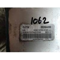 Opel Zafira 1.6 Motor Beyni 09364499 / Delphi Delco 864499LA1029212X / DJTW / HSFI 2.1