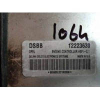 Opel Zafira 1.6 Motor Beyni 12223630 / Delphi Delco 863630LB213820G8  / DSBB / HSFI 2.1