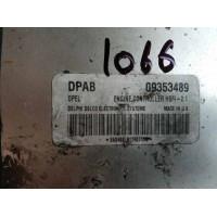 Opel Astra 1.6 Motor Beyni 09353489 / Delphi Delco DPAB/ HSFI 2.1