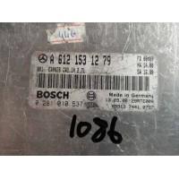 Mercedes E270 2.7 Motor Beyni CDI Dizel A6121531279 / A 612 153 12 79 / Bosch 0281010537 / 0 281 010 537