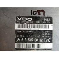 Mercedes W124 Motor Beyni 0165458032 / 016 545 80 32 / VDO 412229006016 / 412.229/006/016