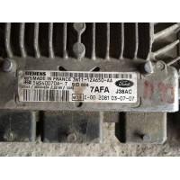 Ford Fiesta 1.4 Motor Beyni TDCI Dizel 3N1112A650AA / 3N11 12A650 AA / Siemens 5WS40070AT / 5WS40070A T