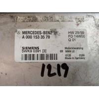 Mercedes SLK R170 Motor Beyni A0001533579 / A 000 153 35 79 / Siemens 5WK90391 / 5WK9 0391