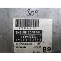 Toyota Corolla 1.6 Motor Beyni 8966102B90 / 89661 02B90 / Denso MB2750008811 / MB275000 8811