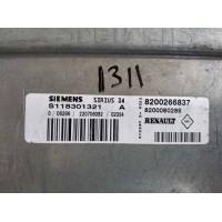 Renault Motor Beyni 8200266837 / 8200080285 / Siemens S118301321A / S118301321 A