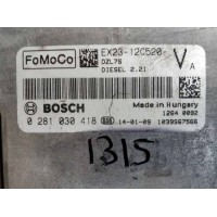 Jaguar XF 3.0 Motor Beyni Dizel EX2312C520VA / EX23 12C520 VA / Bosch 0281030418 / 0 281 030 418