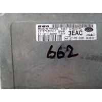 Ford Fiesta Motor Beyni 6S6112A650PC / 6S61 12A650 PC / Siemens S118763016C / S118763016 C