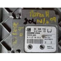 Opel Astra 1.6 Motor Beyni 55568735 / 55 568 735 / Siemens 5WK9463 / 5WK9 463 / SIMTEC75.5