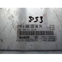 Mercedes W168 1.7 Motor Beyni CDI Dizel A6681530079 / A 668 153 00 79 / Bosch 0281010752 / 0 281 010 752 / CR1.2
