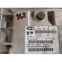 Peugeot Motor Beyni HW 16.784.004 / HW 9654596080 / SW 16.804.024 / SW 9660204580 Magnetti Marelli IAW 6LPC.102